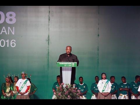 Discours du 8 Janvier. -Djibouti Convention UMP