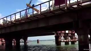 Крымский мост сегодня с квадрокоптера