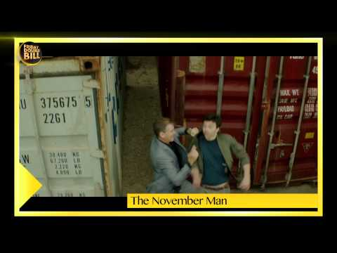 Movie Review || The November Man || Friday Double Bill || Mayank & Fahad