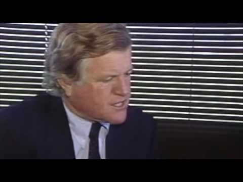 Senator Ted Kennedy:  A rare, unedited,  interview at DisneyWorld