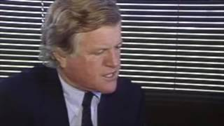 Senator Ted Kennedy:  A rare, unedited,  interview at DisneyWorld