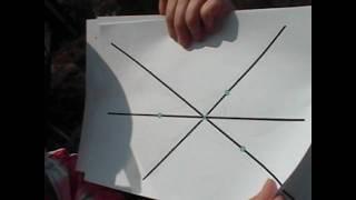 Seven dots math puzzle solution
