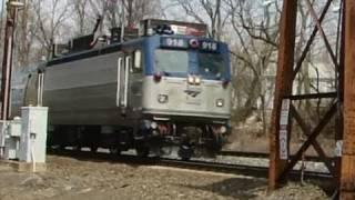 Amtrak & MARC Trains @ Halethorpe