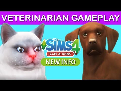 The Sims 4 Cats and Dogs   VETERINARIAN OFFICIAL GAMEPLAY TRAILER REACTION & BREAKDOWN  