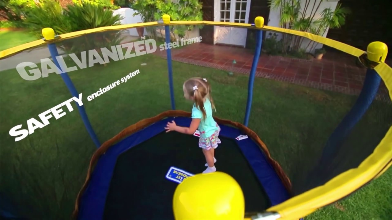 My First Trampoline With Jump Balloon System By