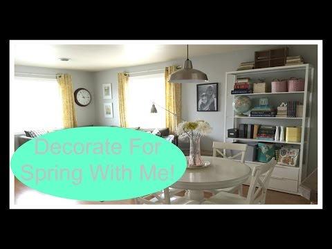 Decorate For Spring With Me!