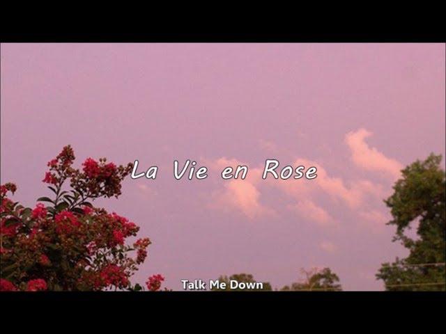 La Vie En Rose Chloe Moriondo Espaol Chords Chordify