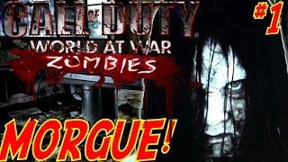 """FREAKIEST MAP EVER!"" (HORROR MAP) - Custom Zombies ""MORGUE"" #1 (CoD WaW Custom Zombies)"