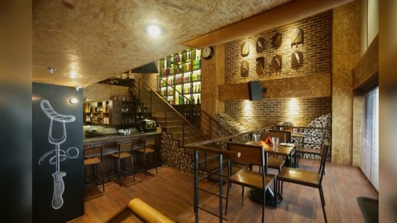 Bbq restaurant interior design ideas Awesome - YouTube