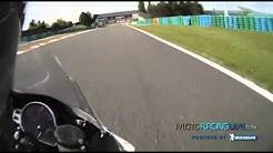 Magny-cours Circuit - Trajectoire Moto commenté