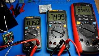 Мультиметры BSIDE ZT301 vs ZT102. Большой обзор.
