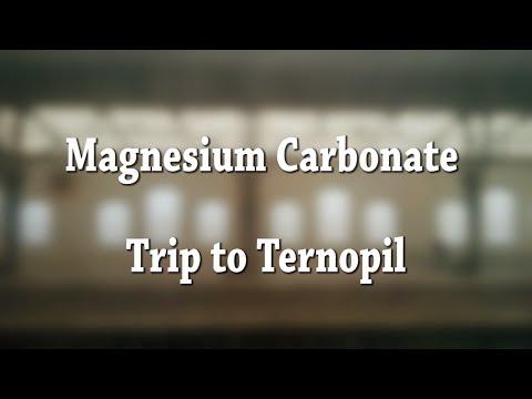 Magnesium Carbonate:Trip To Ternopil