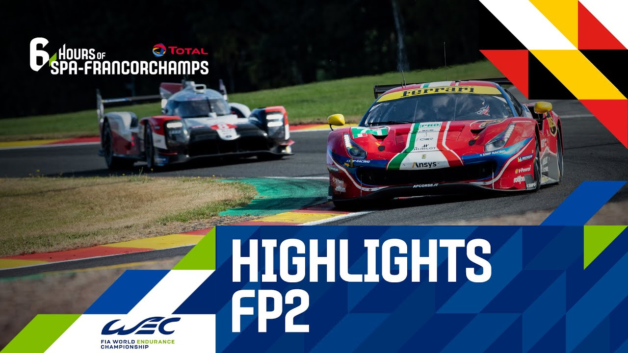 Total 6 hours of Spa-Francorchamps 2020 - Highlights Free Practrice 2