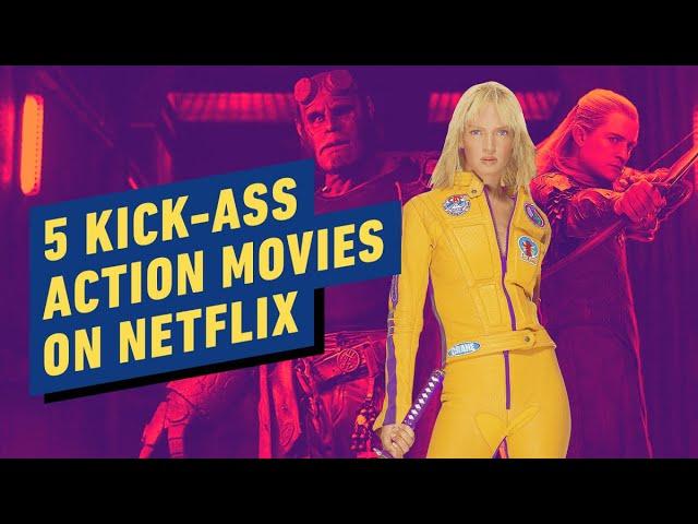 5 películas de acción de Kick-Ass en Netflix + vídeo