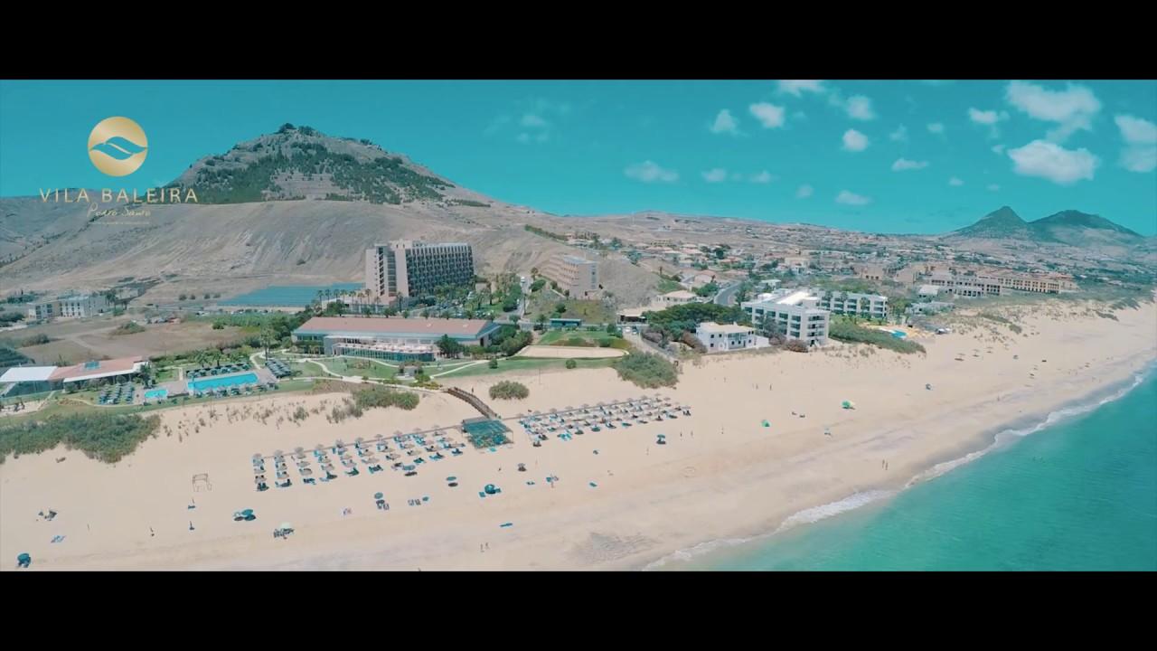 Vila Baleira Resort Porto Santo Tudo Em Familia Youtube