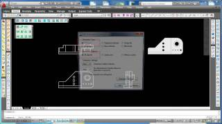 3D to 2D and Dimensioning Automatically in AutoCAD