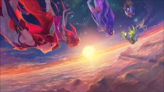 burning bright star guardian login theme league of legends full song
