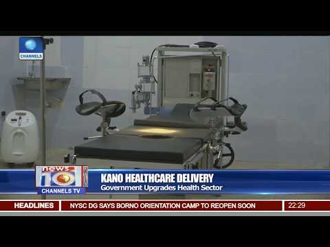Kano Govt Commissions Upgraded Health Facilities
