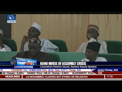 Kano Lawmakers Resolve Issues, Replace Deputy Speaker