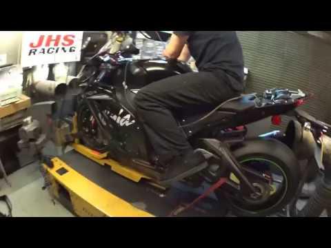 2017 Kawasaki Zx 10rr Dyno Run Youtube