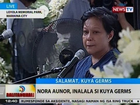 BT: Nora Aunor, inalala si Kuya Germs