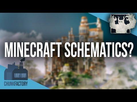 Was ist eine Minecraft Schematic? Wie fügt man eine Schematic ein? | Infovideo