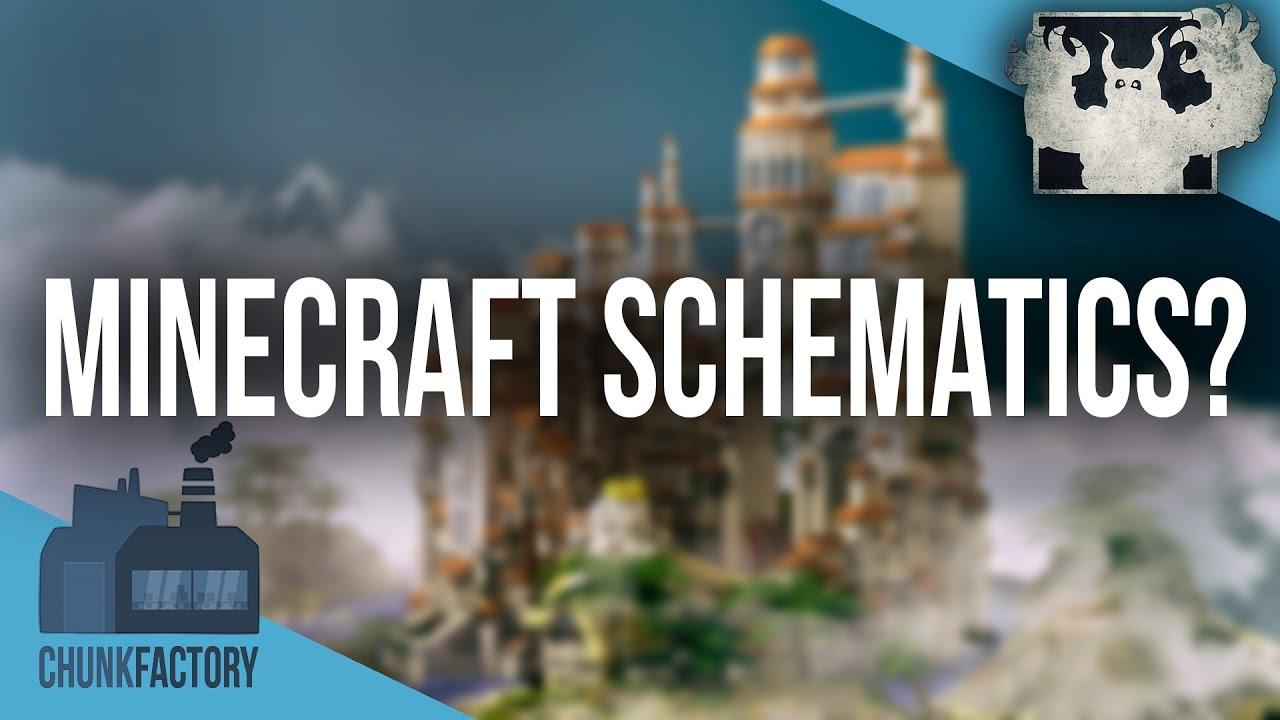 Was Ist Eine Minecraft Schematic Wie Fügt Man Eine Schematic Ein - Minecraft fertige hauser einfugen