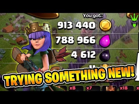 FAST & FUN TH10 QUEENWALK FARMING! - Let's Play TH10 - Clash of Clans