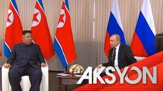 Pagkikita nina Putin at Kim