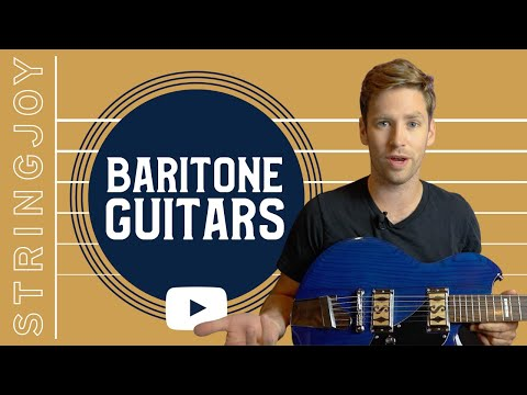 Where Did the Baritone Guitar Come From?