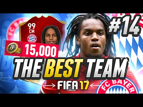 THE BEST TEAM IN FIFA! #14 [15,000 COIN TEAM] - #FIFA17 Ultimate Team