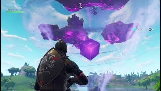 Fortnitemares Gameplay, Cube Breaking Island Event