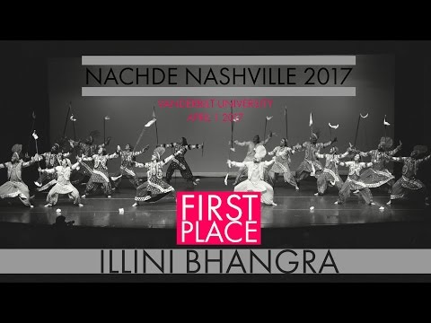 Illini Bhangra - First Place @ Nachde Nashville 2017