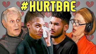 Elders React to #HurtBae (HurtBae Meme Compilation) by : FBE