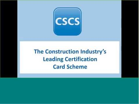 How To Meet Cscs Card Requirements
