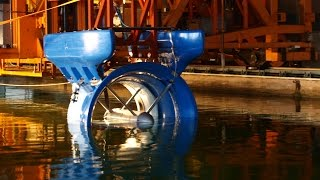 Smart Hydro Power's floating turbines provide electricity to the world's most remote locations