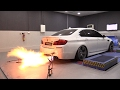 785HP BMW M5 F10 Arkapovic PP Performance - Dyno Run + INSANE FLAMES!