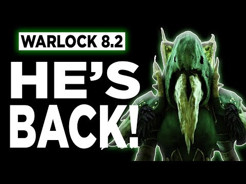 HE'S BACK! 8.2 Affliction Warlock PVP BFA | Battle for Azeroth
