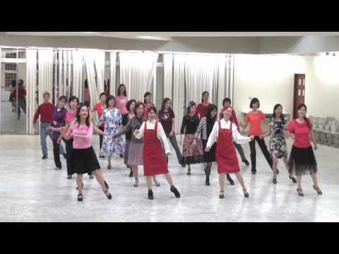 Coffee House Romance 走過咖啡屋 -- Line Dance