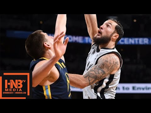 San Antonio Spurs vs Denver Nuggets Full Game Highlights / Feb 13 / 2017-18 NBA Season