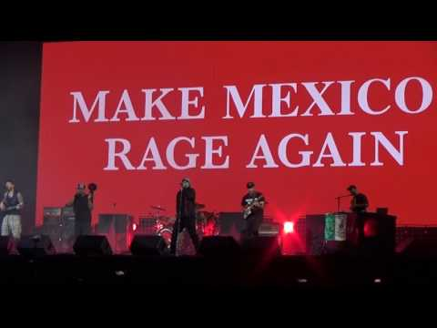 Prophets of Rage Mexico 2017 - Killing in the Name Of @Vive Latino
