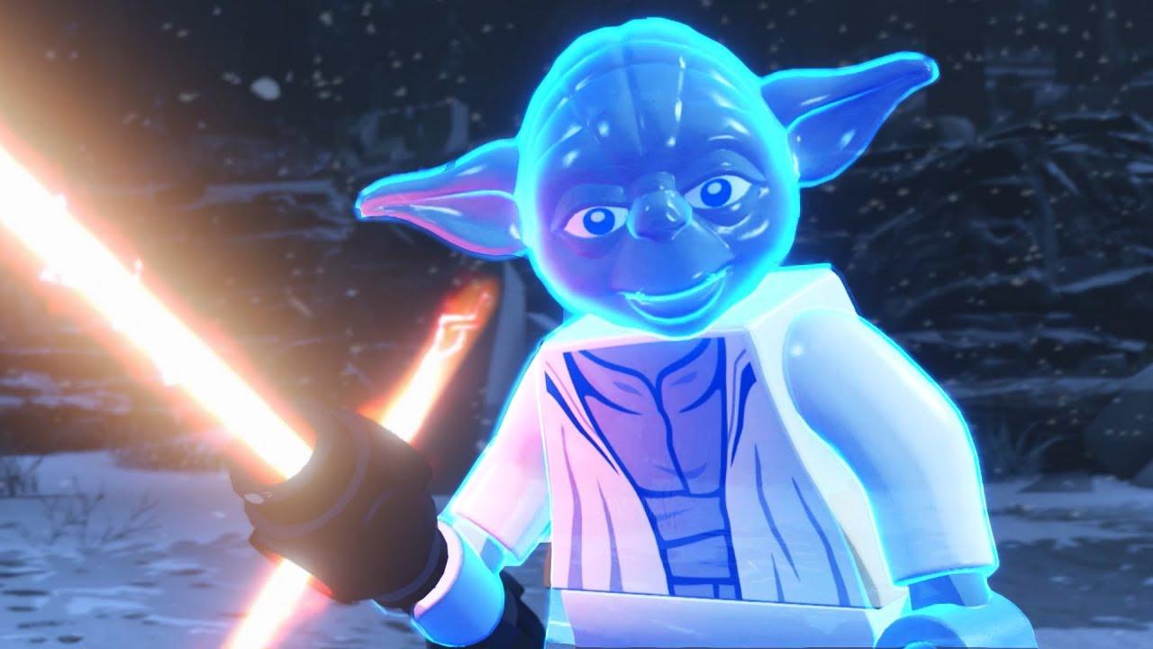 Ghost yoda performs all kylo ren cutscenes mod lego star - Lego star wars anakin ghost ...