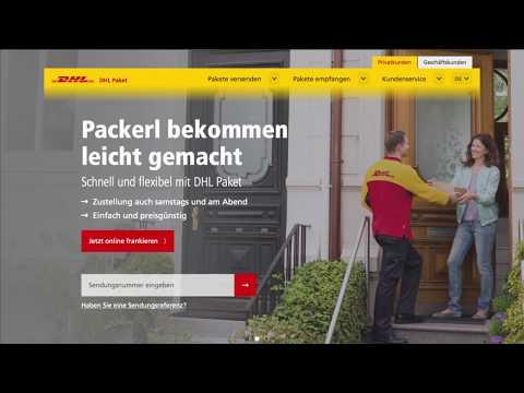 Pakete Versenden Dhl Paket österreich Deutsch