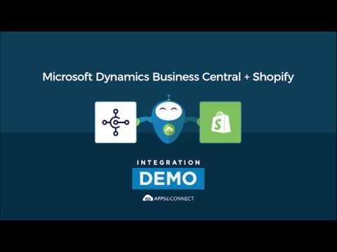 Integrate Microsoft Dynamics 365 Business Central and Shopify | APPSeCONNECT