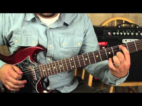Guitar Lessons - How to play the riff from Outshined by Soundgarden Tutorial