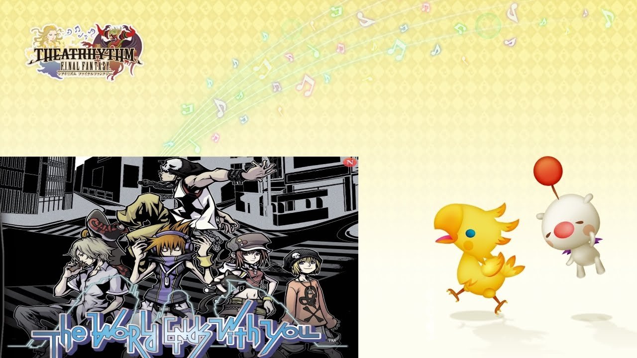Theatrhythm Final Fantasy Curtain Call Dlc Calling The World Ends With You Perfect Chain