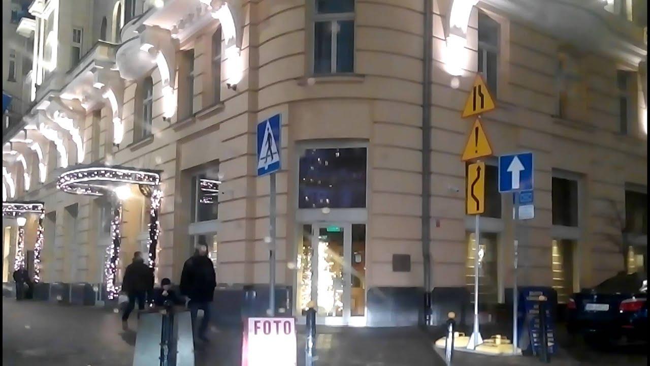 Driving Warsaw Centre / поездка центр Варшавы / Fahren Zentrum Warschau
