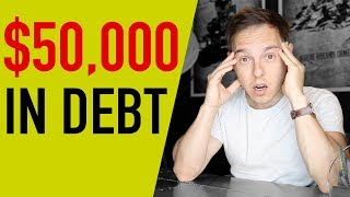 I'm $50,000 In Debt...What Can I do? | The Graham Stephan show
