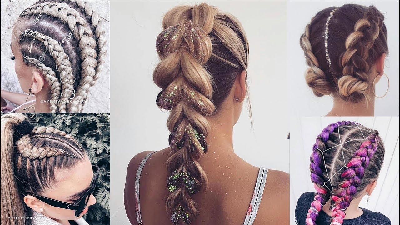 Cute & Easy Braided Hairstyles For Summer   Braids Tutorial 9