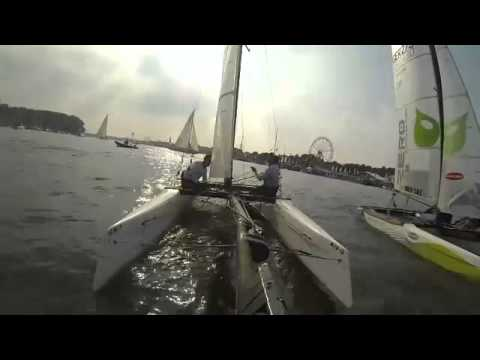 2013 Hobie Wild Cat media race